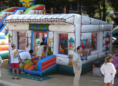 Inflable Far West
