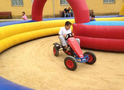 Circuit de vehicles en pedals
