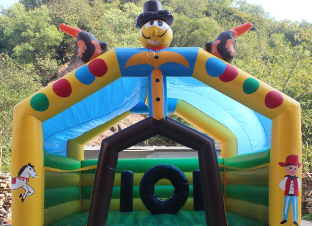 inflables inflable Pistolero